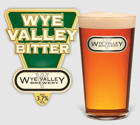 Wye Valley Bitter, A mouthwatering chestnut coloured ale with a delicate hop aroma leading on to a full malty flavour, ending up crisp, clean bitter finish. 3.7% ABV #realale