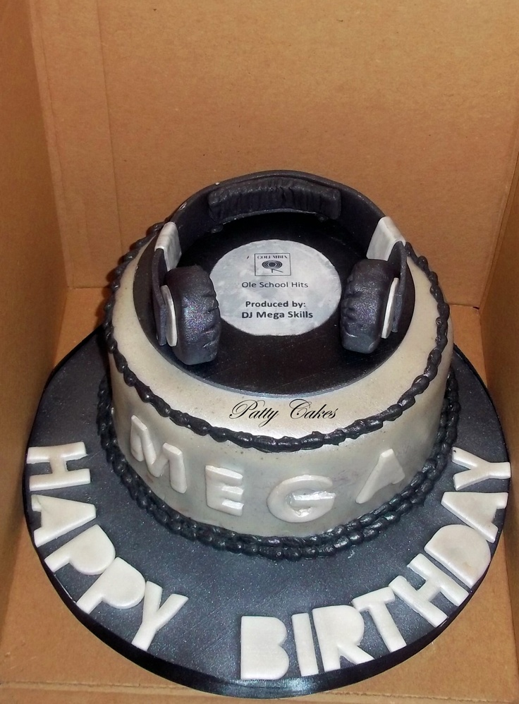 DJ Cake Cakes Vol. III (special occasions) Pinterest