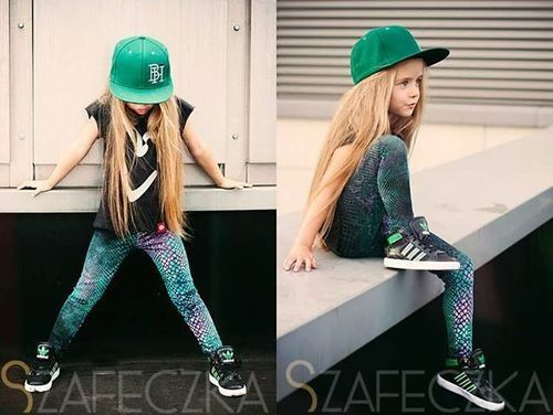 This is my little girl! She has the long blonde hair!!