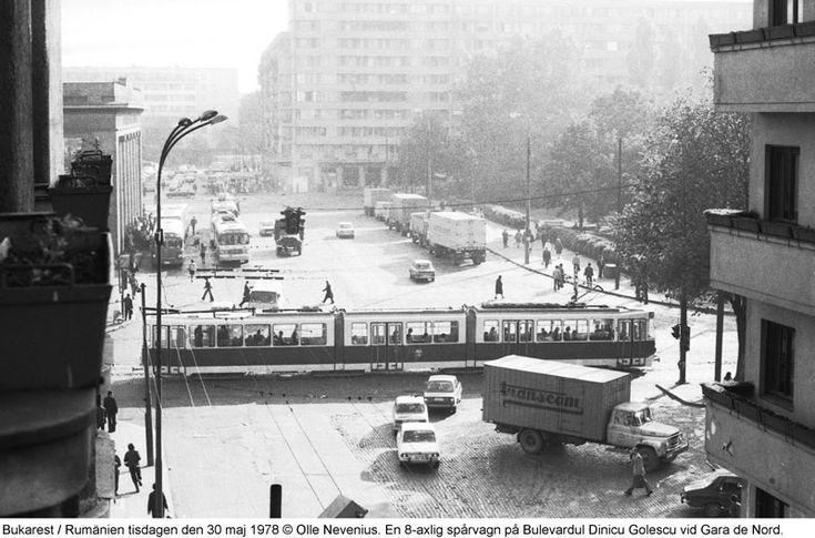 bucuresti 1978- bd Dinicu Golescu 1