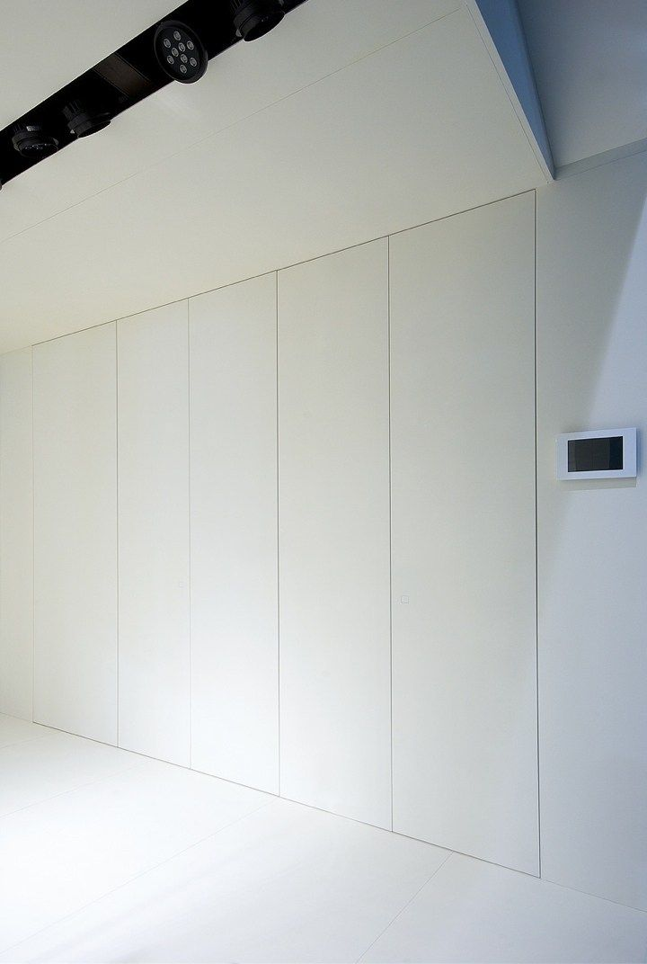 EINBAU- KLEIDERSCHRANK COMBI DOOR KOLLEKTION COMBI BY SISTEMI RASOPARETE®