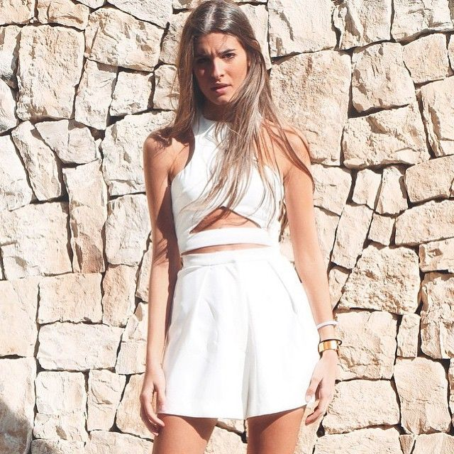 Is it possibile to look Cooler that this?!? @teresaandresgonzalvo doing it better in a #styligion total look!