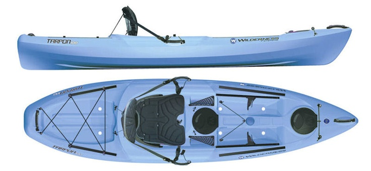 Wilderness Systems Tarpon 100 for sale from Kayaks and Paddles Canoe Shop