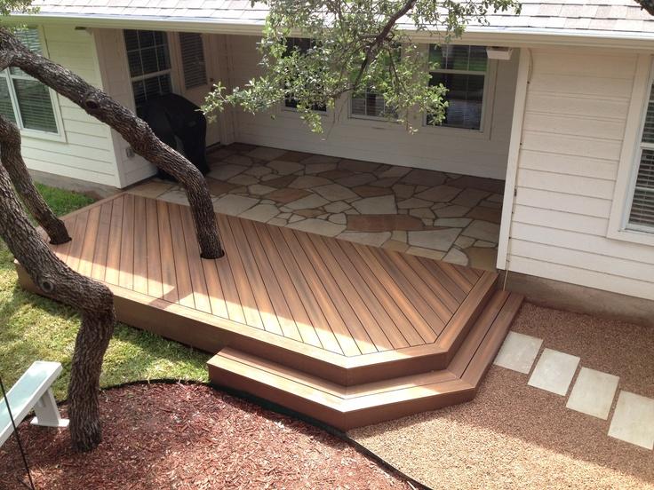37 best images about fiberon decking on pinterest deck for Ipe vs composite decking