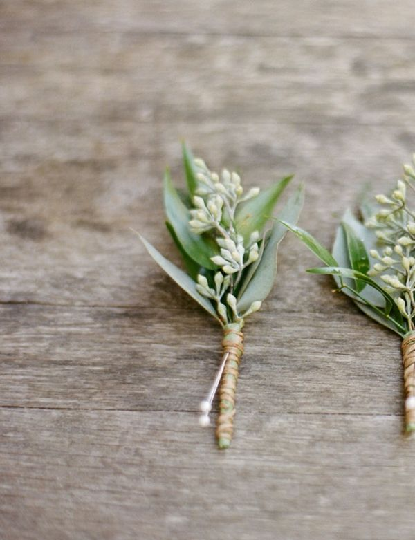 brautstrauß Eukalyptusblumendeko hochzeitsdeko ideen