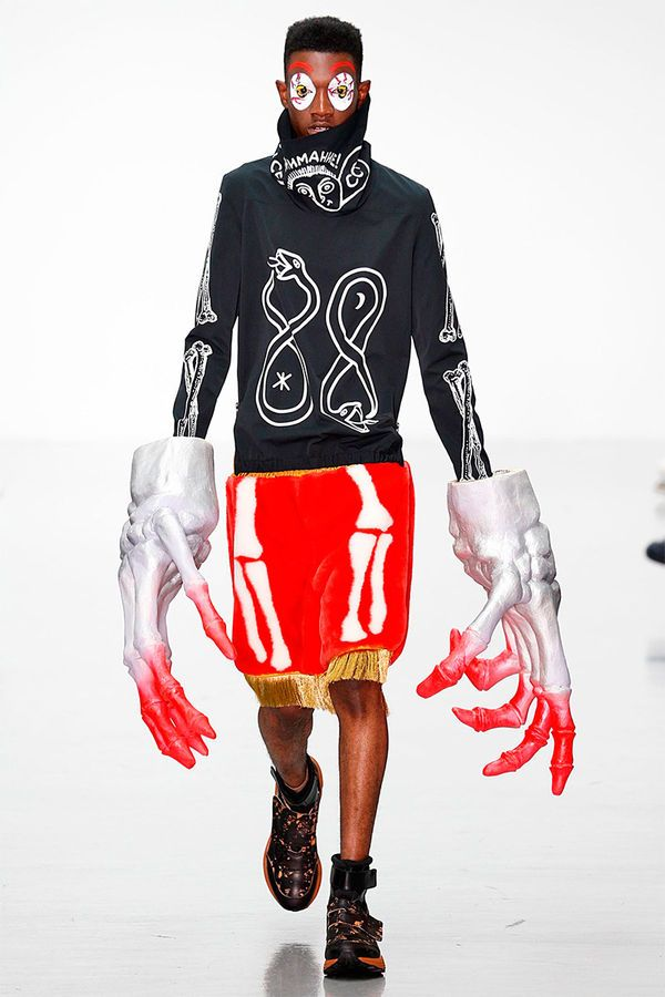 The Sankuanz Spring/Summer 2015 Collection is Conceptually Graphic #menswear trendhunter.com