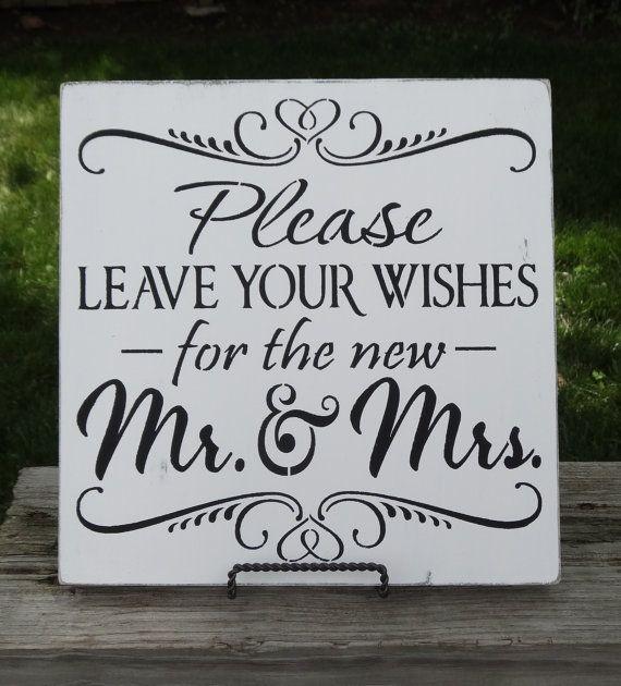 Wedding Guest Book Phrases - Unique Wedding Ideas