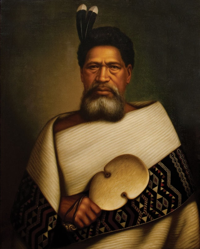 Ihakara Tukamaru, oil on canvas, painting by Gottfried Lindauer 150,000NZD