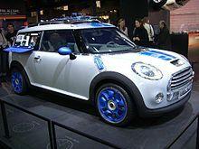 Mini concept cars - Wikipedia, the free encyclopedia