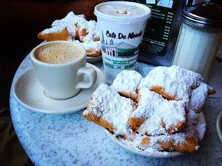 Beignets from Cafe' Du Monde - New Orleans, LA