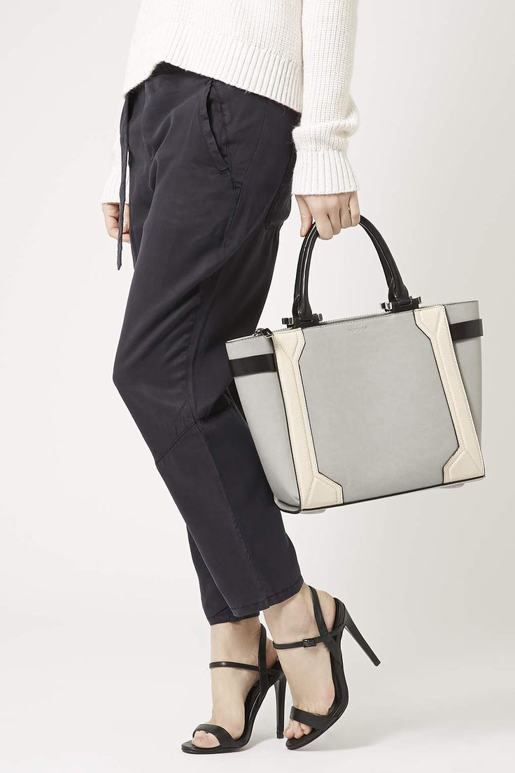 Structured Tote - Topshop