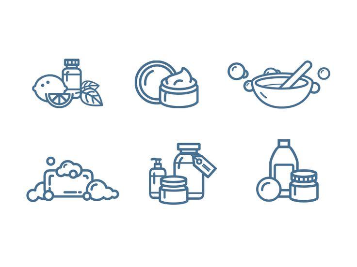 Soap fomula icons