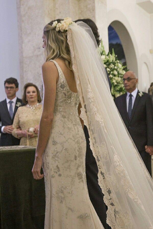 Casamento Helena Bordon - cabelo solto