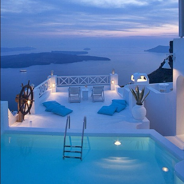 Want to be here!!!: Yes Please, One Day, Oneday, Santorini Greece, Favorite Places, Vacations Spots, White Architecture, Pools, Heavens