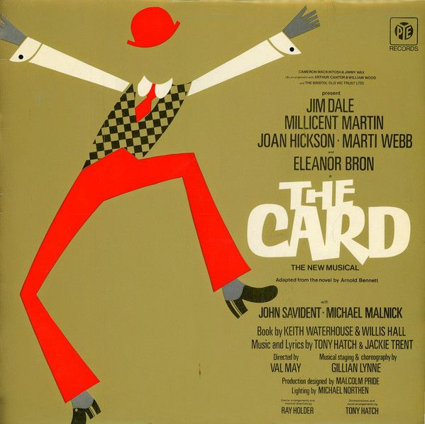 Jim Dale, Millicent Martin, Joan Hickson, Marti Webb & Eleanor Bron - The Card: buy LP at Discogs
