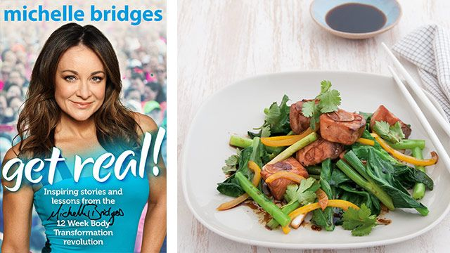 Extract from the book Get Real!: Inspiring Stories and lessons from the Michelle Bridges 12 Week Body Transformation revolution by Michelle Bridges and photography by Jane Allen published by Viking rrp$24.99.