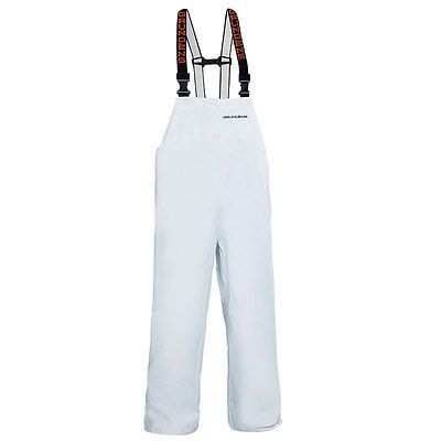 Jacket and Pants Sets 179981: Grundens P116w Petrus 116 Bib Pant White -> BUY IT NOW ONLY: $84.99 on eBay!