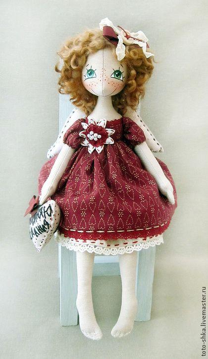 Коллекционные куклы ручной работы. Ярмарка Мастеров - ручная работа Ангел исполняющий желания. Handmade.
