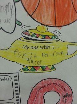 Greatest. Wish. Ever.