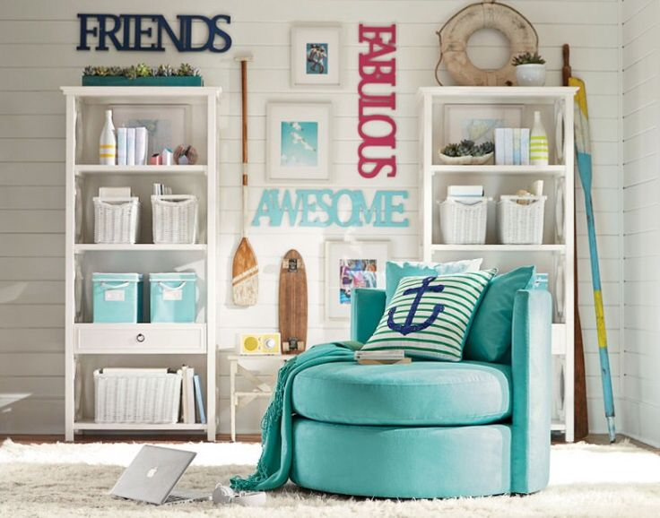 Summer PB Teen room ideas