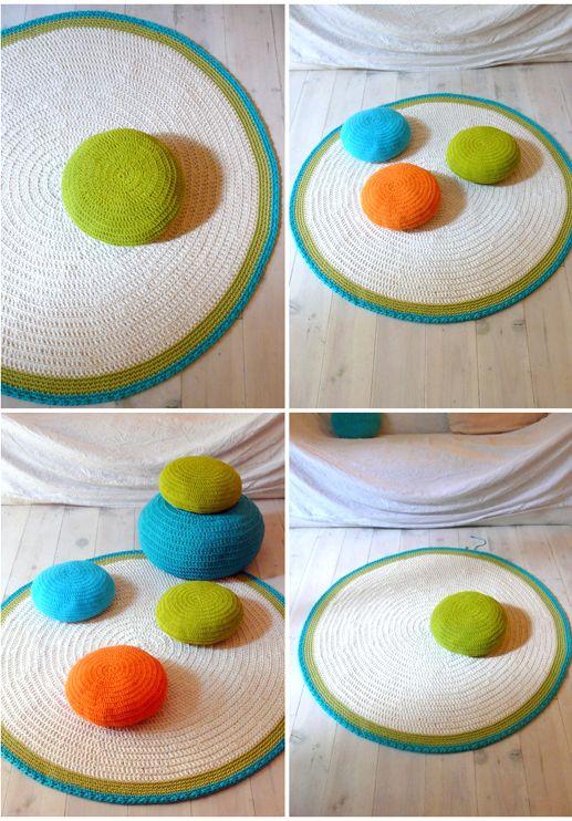 alfombra i puff