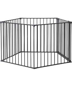 Scandinavian Pet Pen with Wall Fittings.