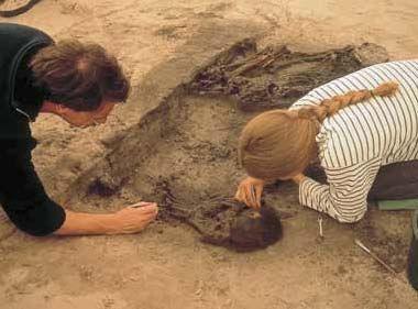 archeologie, 1 van de vele hobby's van Oscar