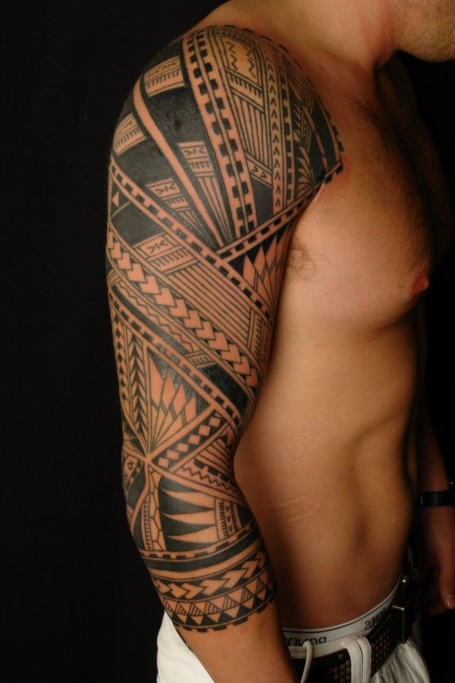 150 Popular Tribal Tattoo Designs For Men And Women nice