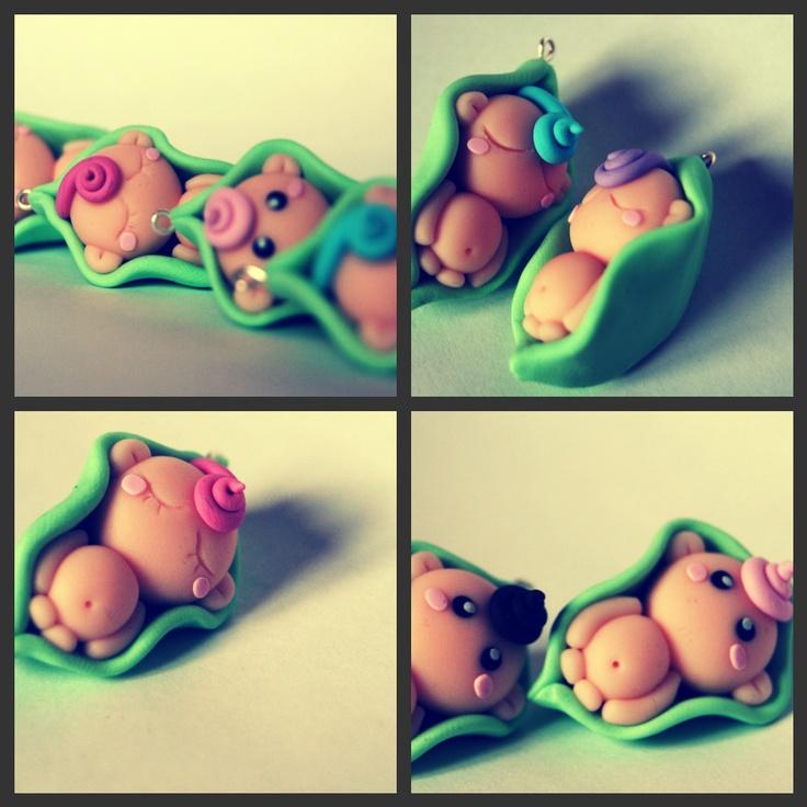 So cute!!!!!!! Sweet Pea Babies:)