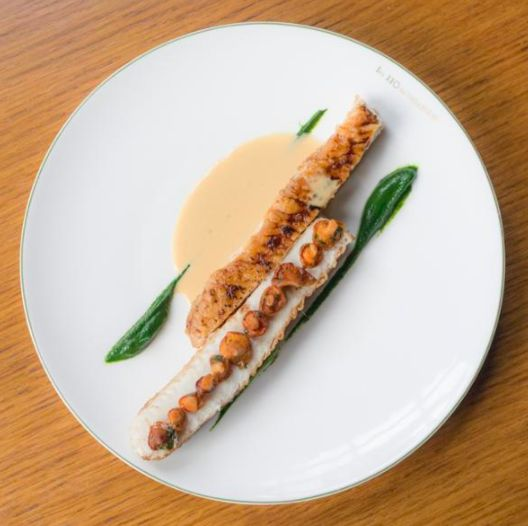 Dover Sole from the Autumn Menu at Les 110 de Taillevent