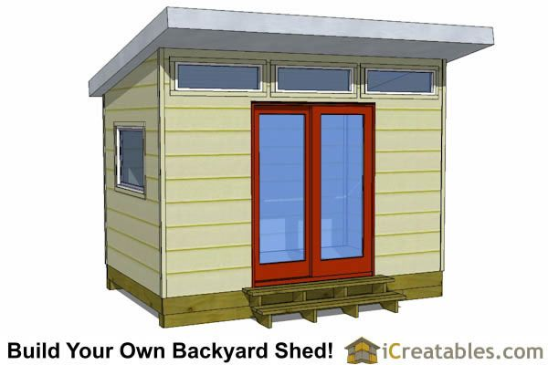17 best ideas about studio shed on pinterest backyard for Garden office and storage