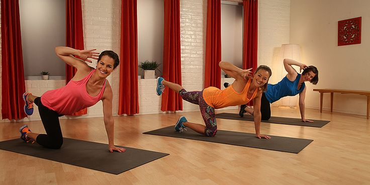 A tight and toned core gives you sexy, sleek abs along with better posture — and everyone looks better when they lose the slouch.  Take 10 minutes to work your middle with this workout that is perfect for newbies and fitness buffs alike. The moves