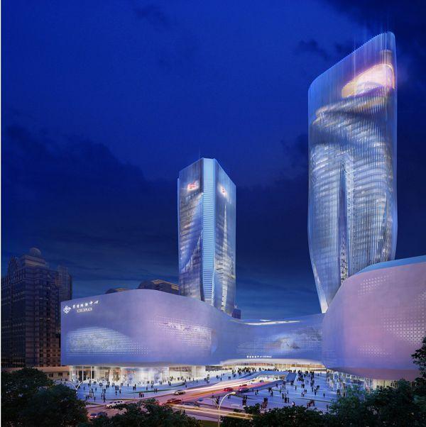 Beijing Scitech Mixed-Use Redevelopment / UNStudio