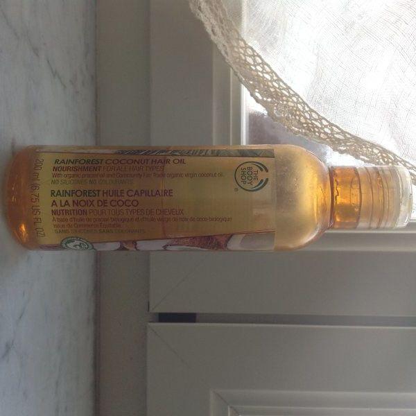 [Recensione] The Body Shop - Rainforest Coconut Hair Oil