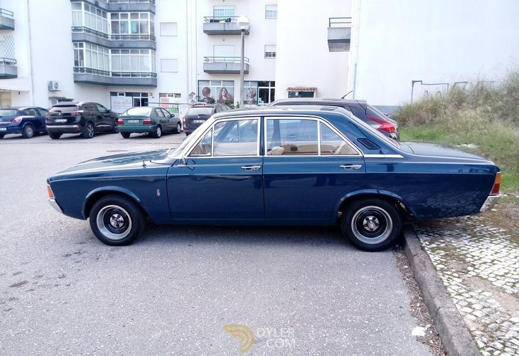 1969 Ford Taunus 20m 2000s V6 Saloon Blue For Sale In Portugal Car For Sale 64820 Cars For Sale Blue Classic Cars