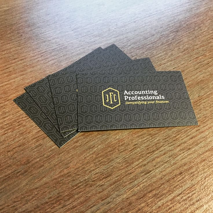 Clean, professional and corporate Logo & Business Cards designed for JFC Accounting Professionals #Logo #BusinessCards #LogoDesign #Branding #Marketing #Design #Print #Printing #BrandIdentity #Designing #Business #Client #Accountant #Bookkeeper #ZainDigital