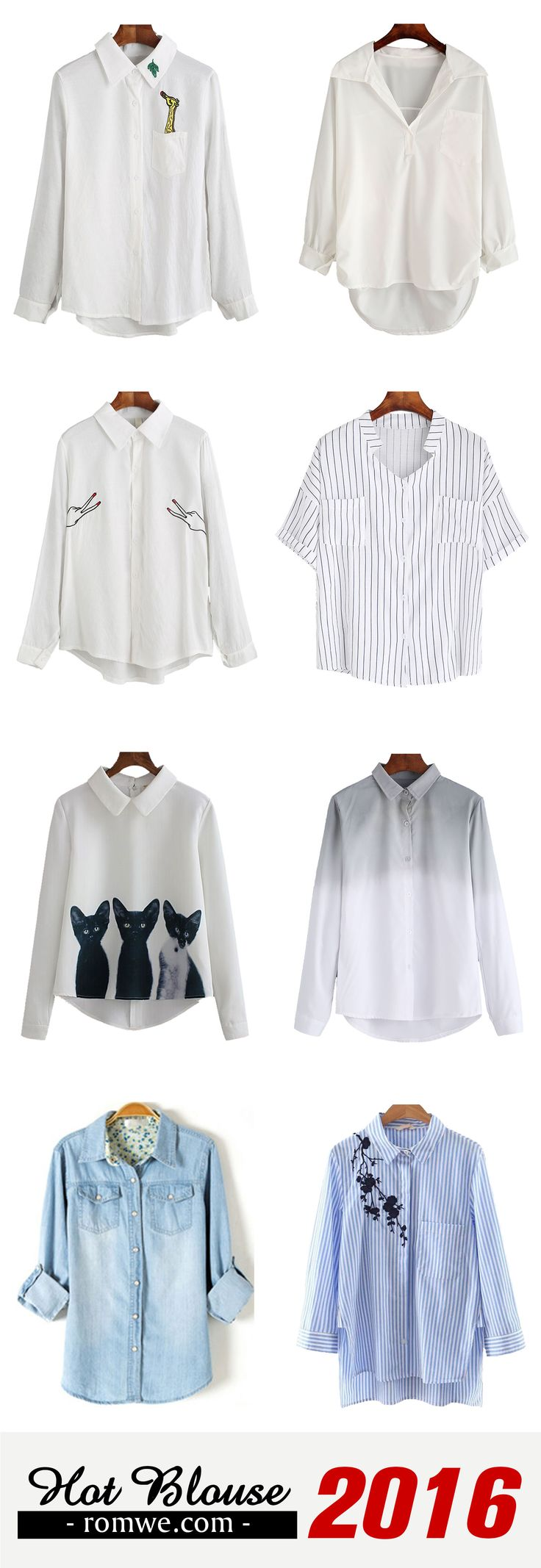 Equipment Blouse Outfit 2016 - Romwe.com
