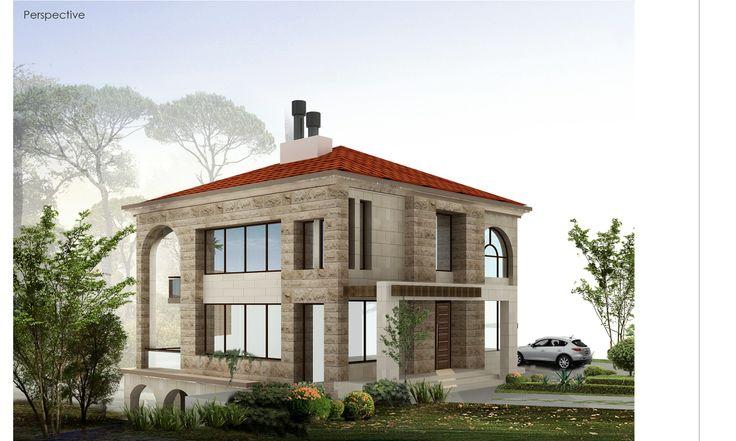 ekconcept - residential villa/ Lebanon