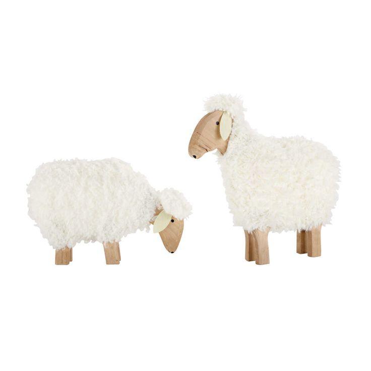 2 déco moutons Pâture
