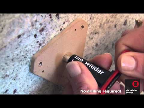 How to install a Grab Bar without drilling - No Drilling Required