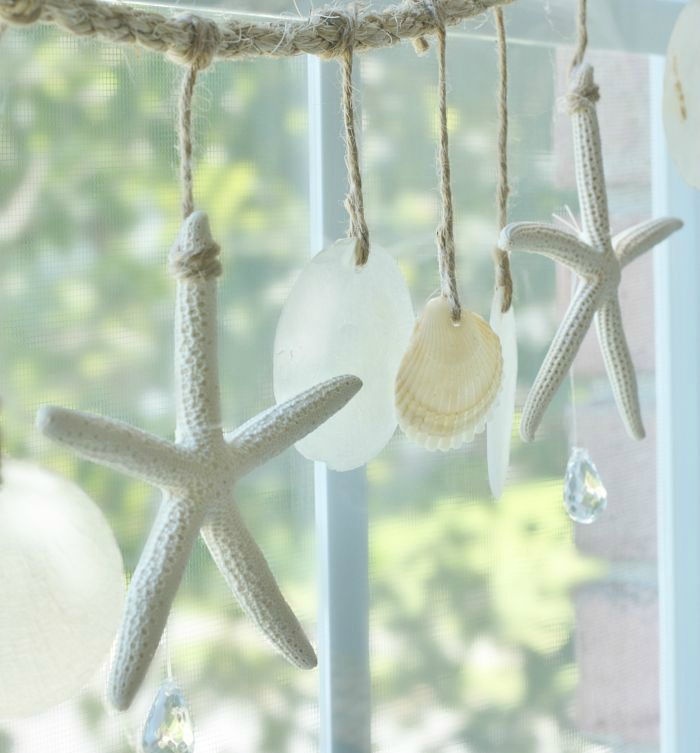 Enjoy the gentle clinking and tinking of your own Sea Chimes. This tutorial shows how to make shell wind chimes out of starfish, capiz, and sea shells.