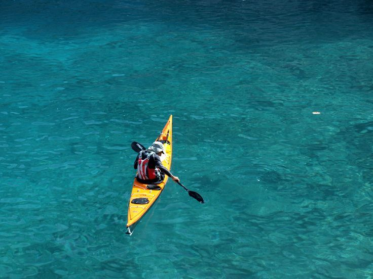 Canoeing is an amazing experience# #activities #watersports #elounda