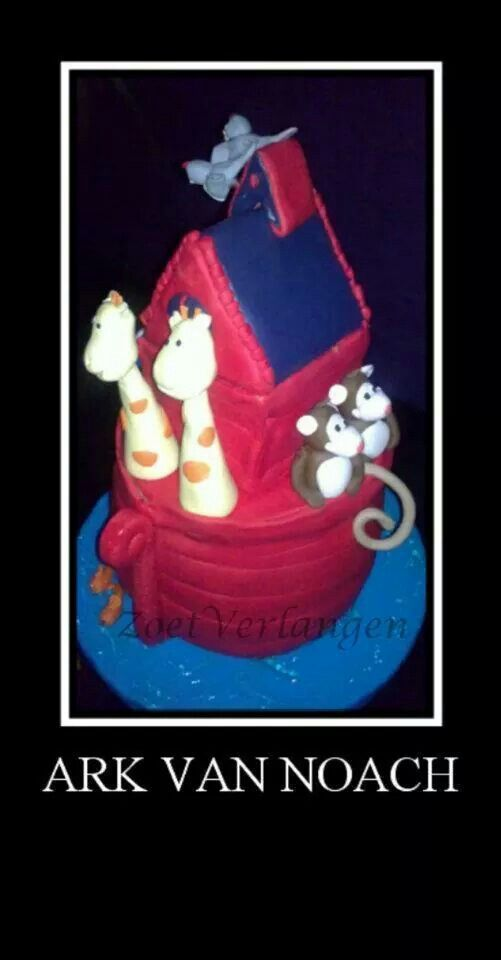 Ark van noach taart