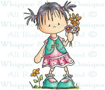 Flowers For Mom - Children - Rubber Stamps - Shop