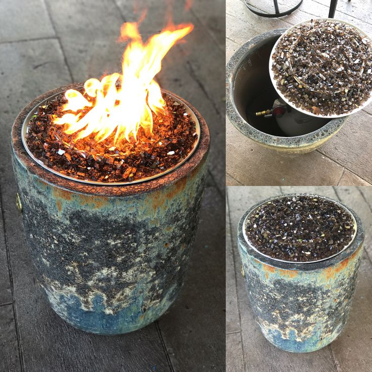 Best 25 Propane Fire Pits Ideas On Pinterest Diy