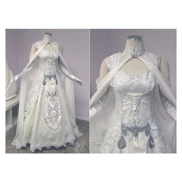 Princess Zelda Wedding Dress By Lillyxandra Liked On Polyvore Featuring Dresses And