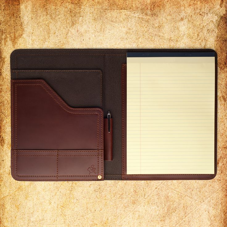 Saddleback Leather Notepad Holder.