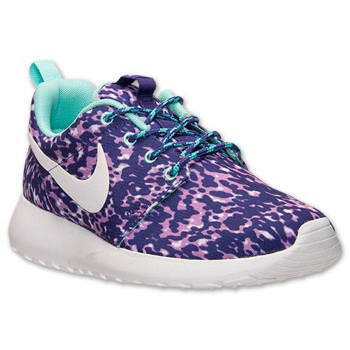 Womens Nike Roshe Run Print Casual Shoes | Finish Line | Size 6