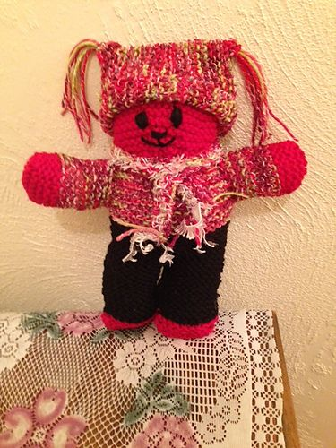 Ravelry: Project Gallery for Mother Bear Project Teddy Bear pattern by Amy Berman