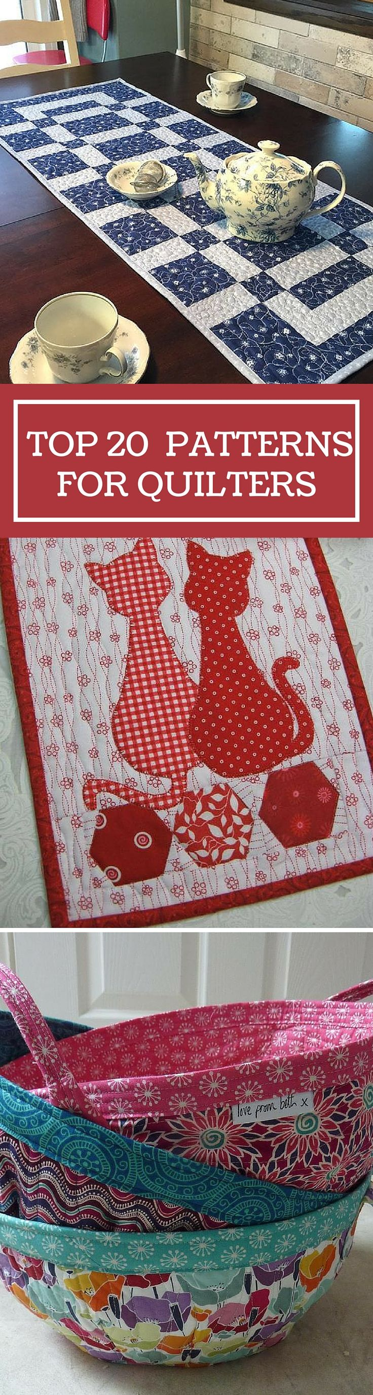 Top 20 Patterns for Quilters of All Levels